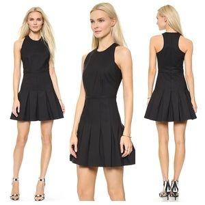 Rebecca Minkoff | Black Gigi Pleated Dress